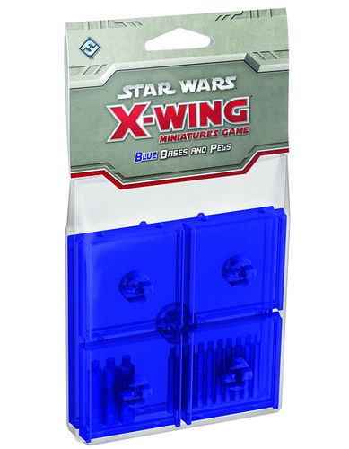 X-Wing: Blue Bases
