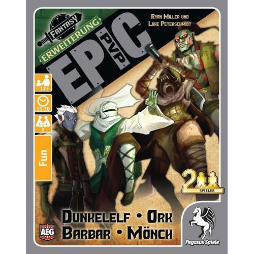 Epic PvP: Dunkelelf, Ork, Barbar & Mönch