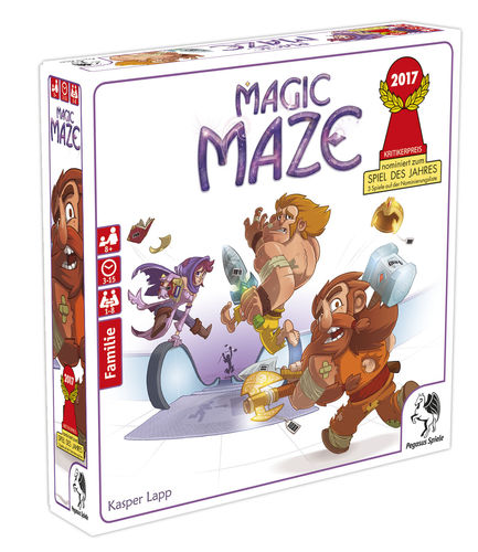 Magic Maze (Grundspiel)